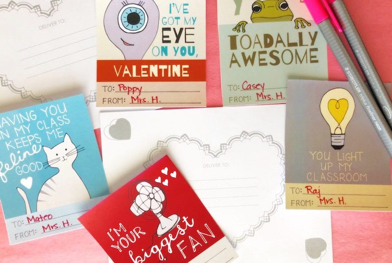 Printable Valentines for Students - 3