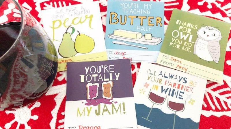 Printable Valentines for Teachers - 2