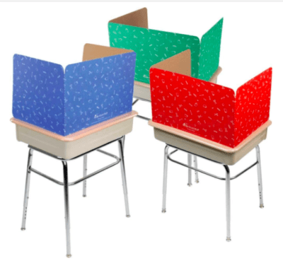 Privacy shields for middle school math
