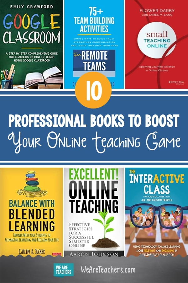 11 Professional Books to Boost Your Online Teaching Game