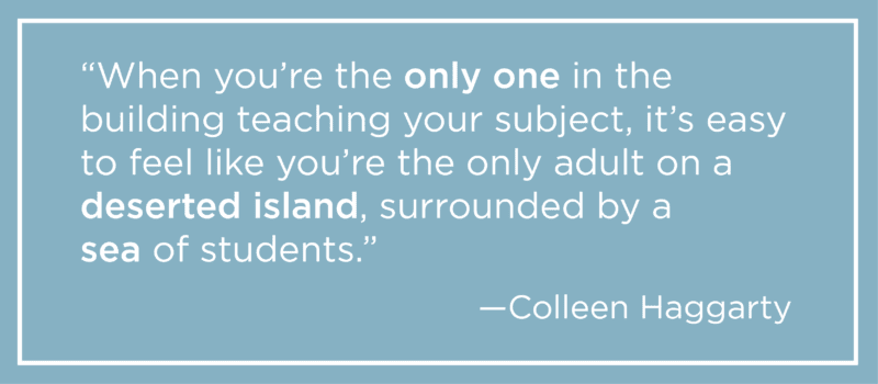 Deserted Island Quote - Being a Foreign Language Teacher Is the Loneliest Job