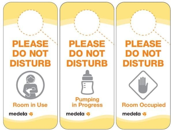 Pumping at Work Signs
