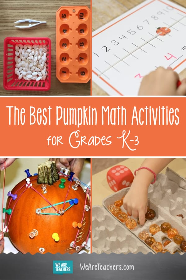 The Best Pumpkin Math Activities for Grades K–3