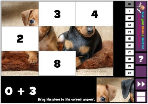 Puzzle Pics Math Playground - The Best Online Interactive Math Games