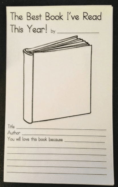 Make a Book Celebrating Books- 8 K-5 Projects to Capture End of the Year Memories