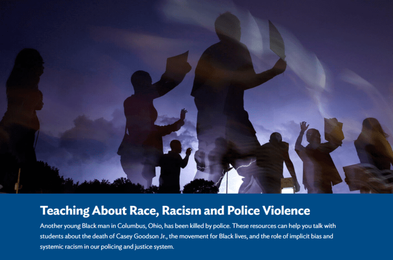 Classroom lessons on Race, Racism, and Police Violence