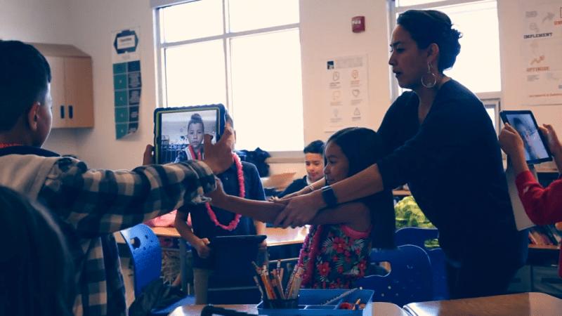 Rachel Lamb, Henry Ford Innovation Nation Award-winning teacher using Model i curriculum in elementary school classroom