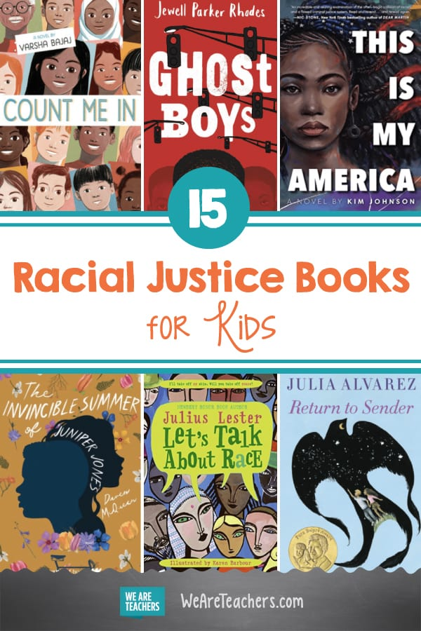 15 Books About Racial Justice for Kids