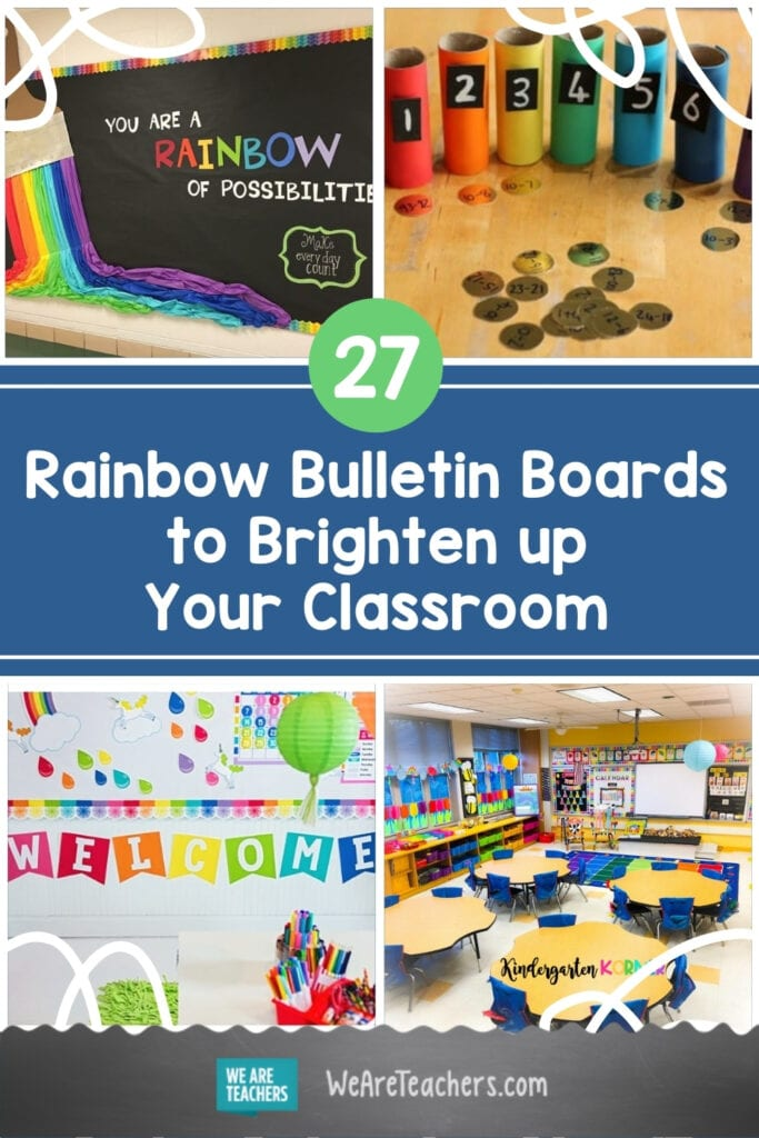 27 Rainbow Bulletin Boards to Brighten up Your Classroom