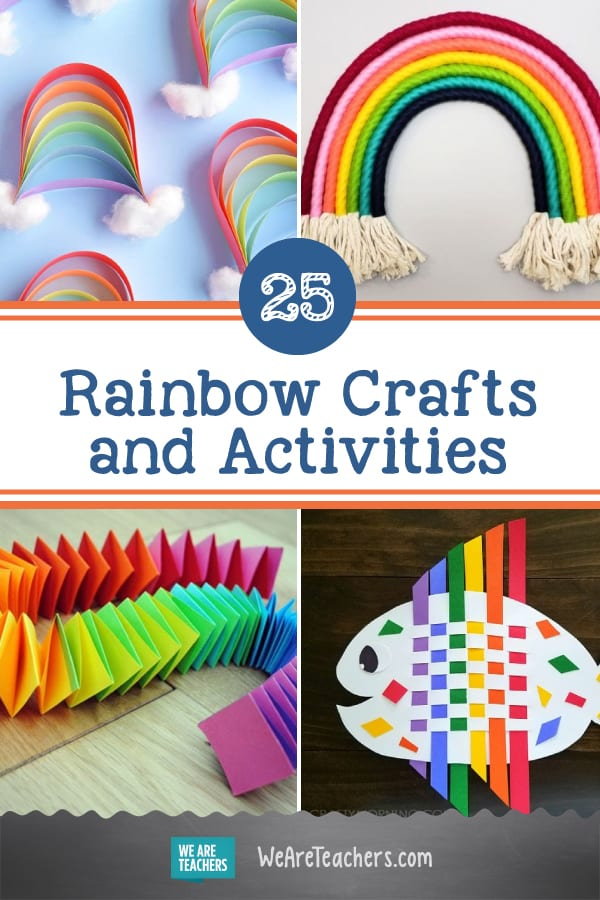 25 Brilliant Rainbow Crafts and Activities