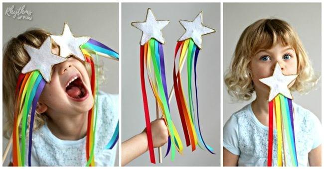 Magic wand for rainbows