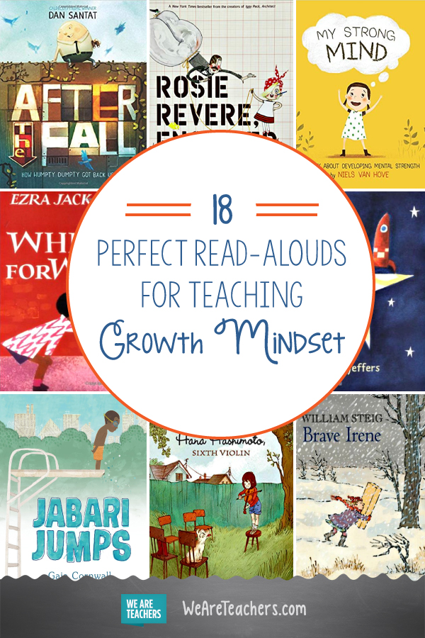 18 Perfect Read-Alouds for Teaching Growth Mindset