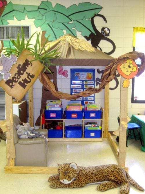 Reading Nook Trendy Teacher