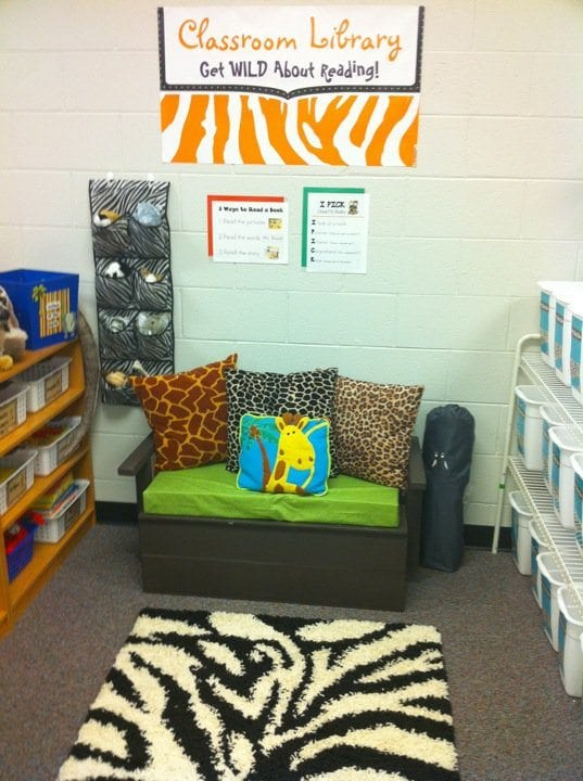 Reading Nooks Polka Dot Teacher