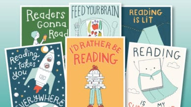 Free Reading Posters for the Classroom