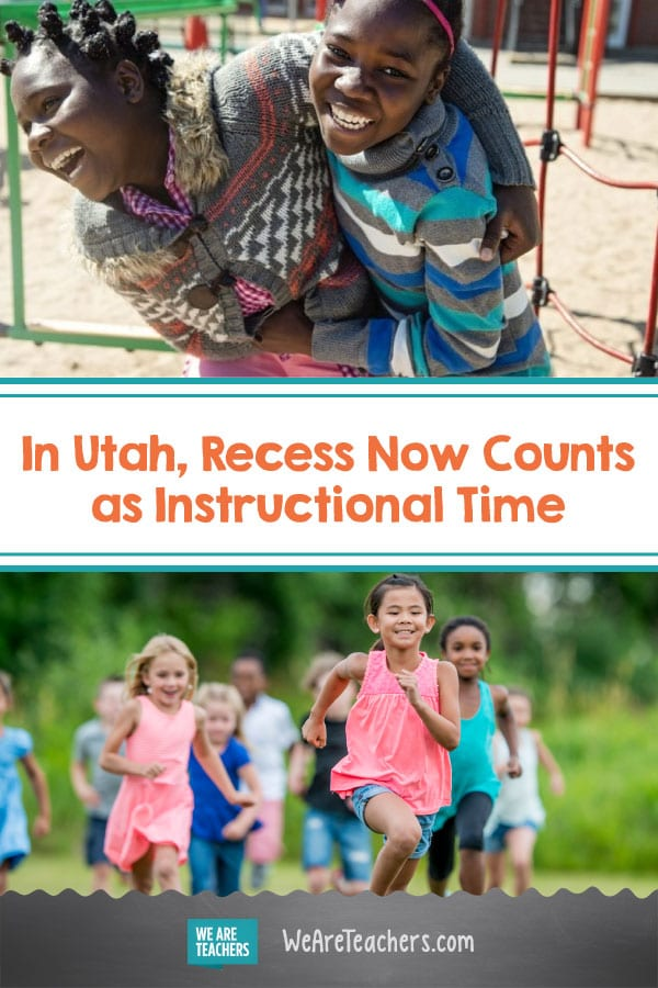 In Utah, Recess Now Counts as Instructional Time