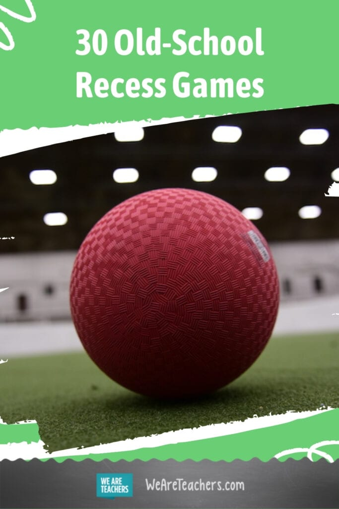 30 Old-School Recess Games Your Students Should Be Playing Now