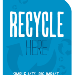 Printable poster for recycling.