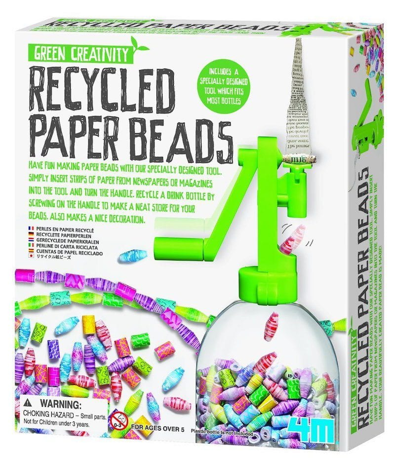 Recycled Paper Beads Kit - Awesome Art Supplies Under $10