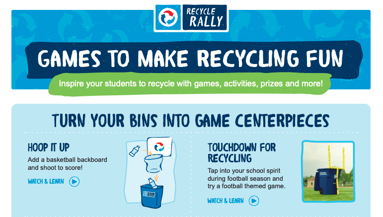 Recycling Games