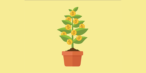 Image of Money Doesn't Grow on Trees activity