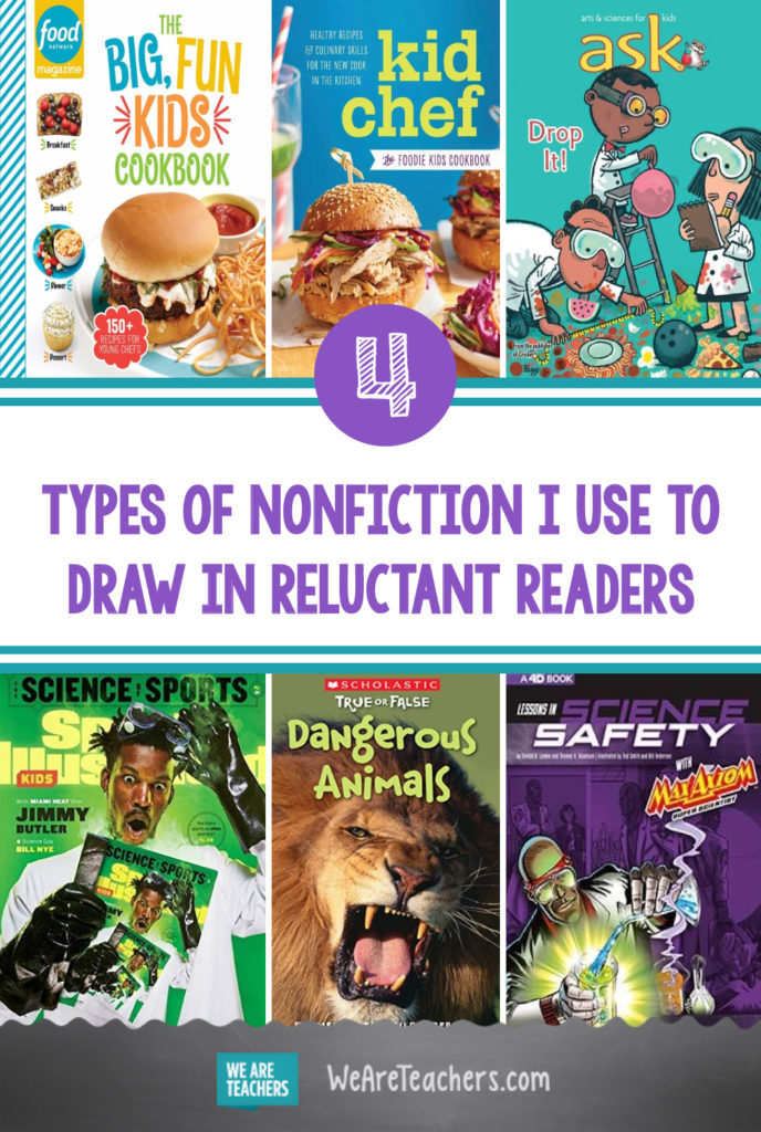 4 Types of Nonfiction I Use to Draw in Reluctant Readers