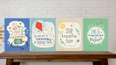 Free Printables Posters to Celebrate Making Memories