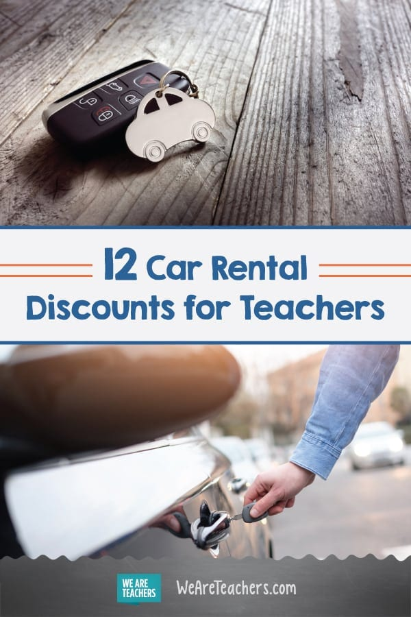 12 Car Rental Discounts for Teachers