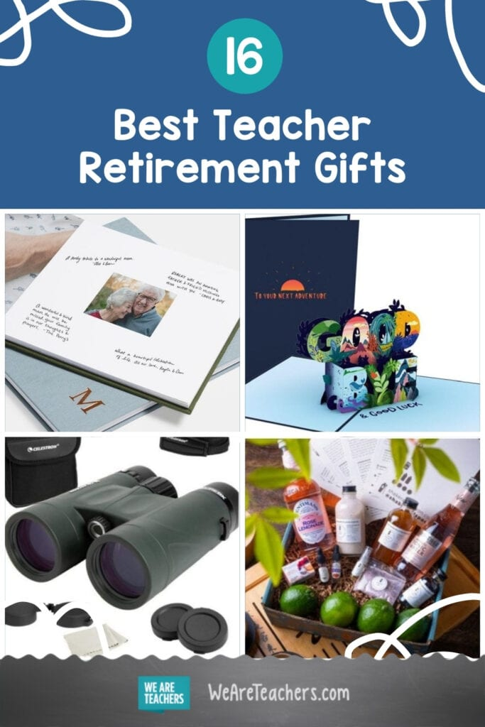 The Best Teacher Retirement Gifts To Celebrate an Incredible Career