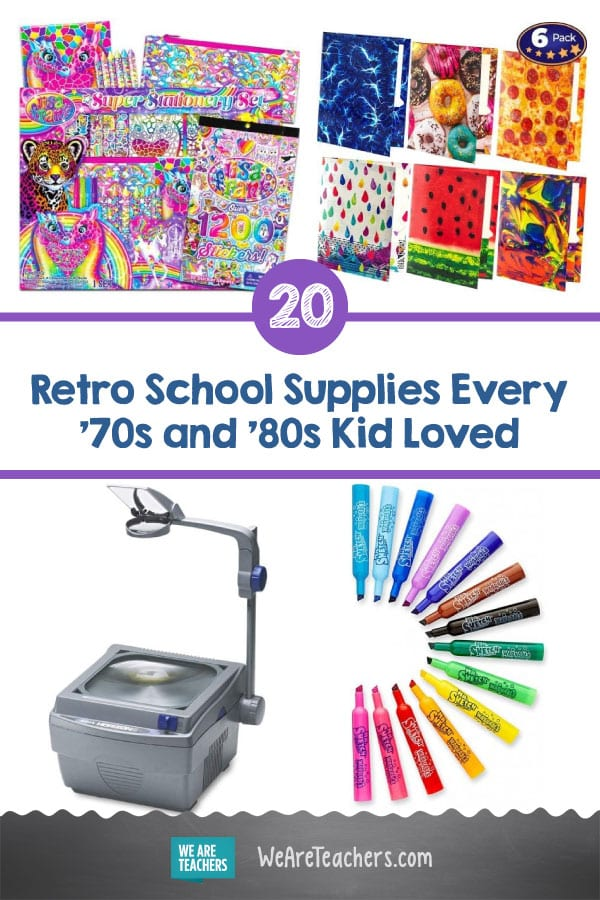 20 Retro School Supplies Every '70s and '80s Kid Loved