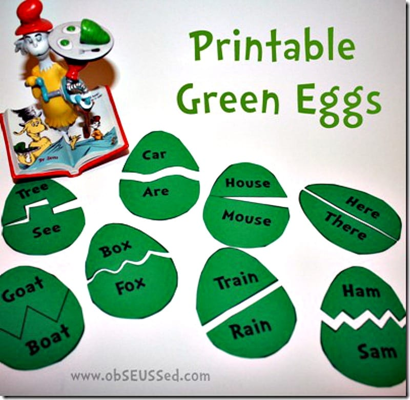 Dr Seuss Activities To Go With Each Of His Beloved Classics