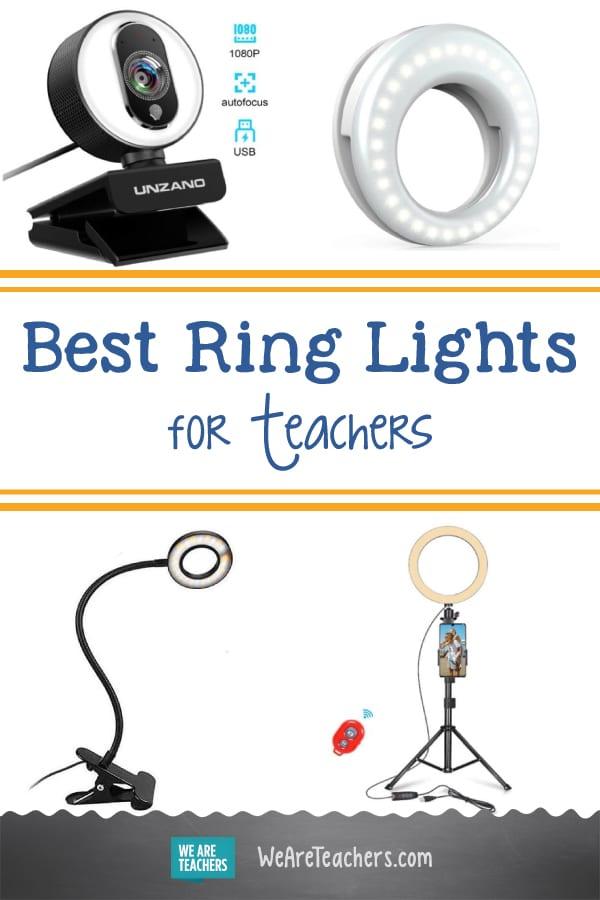 Best Ring Lights for Teachers (Plus Tips for Using Them!)