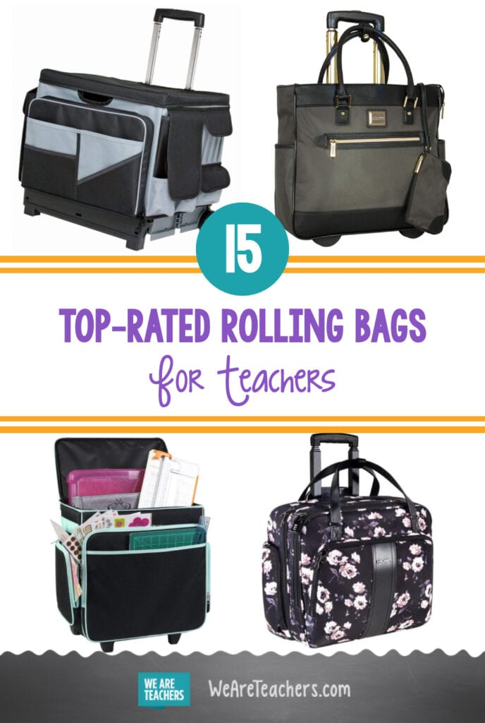 Our Top Picks for the Best Rolling Bags for Teachers