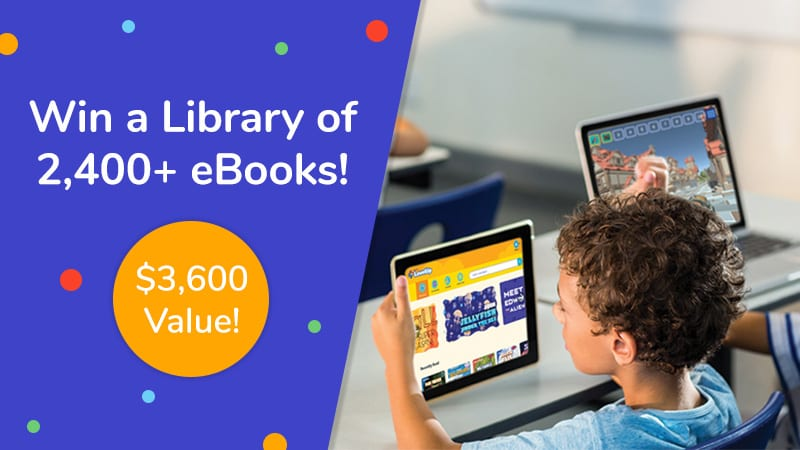 """""""Win a library of 2,400+ eBooks! $3600 value!"""""""