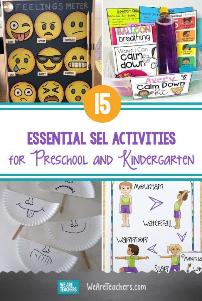 15 Essential SEL Activities for Preschool and Kindergarten