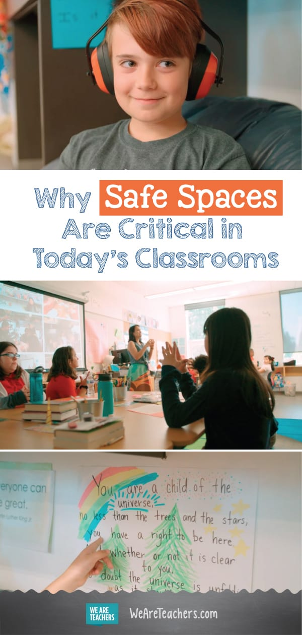 Why Safe Spaces Are Critical in Today's Classrooms