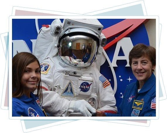 Alyssa Carson founder of Blueberry Foundation space program
