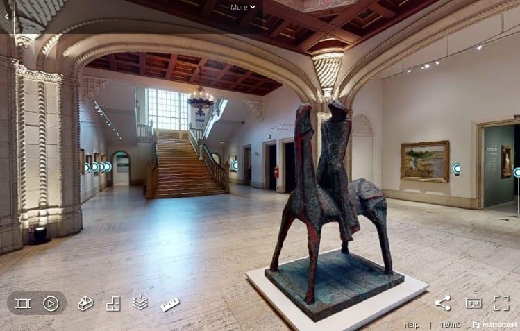 San Diego Museum of Art 360 exhibit