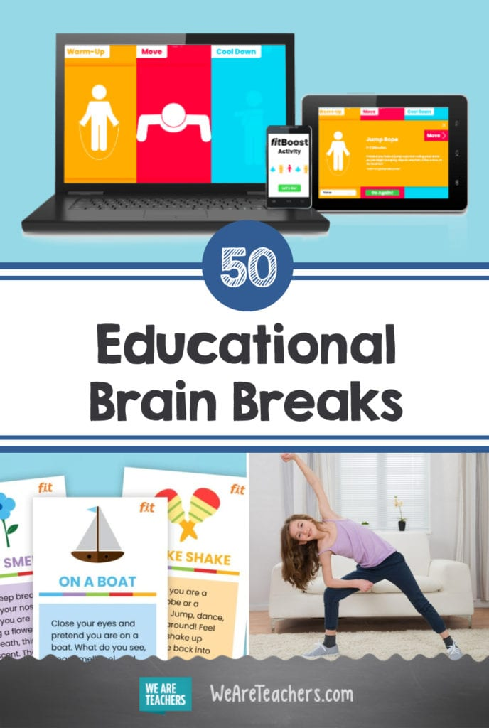 50 Educational Brain Breaks