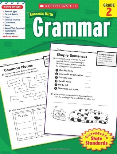 Second Grade Workbook