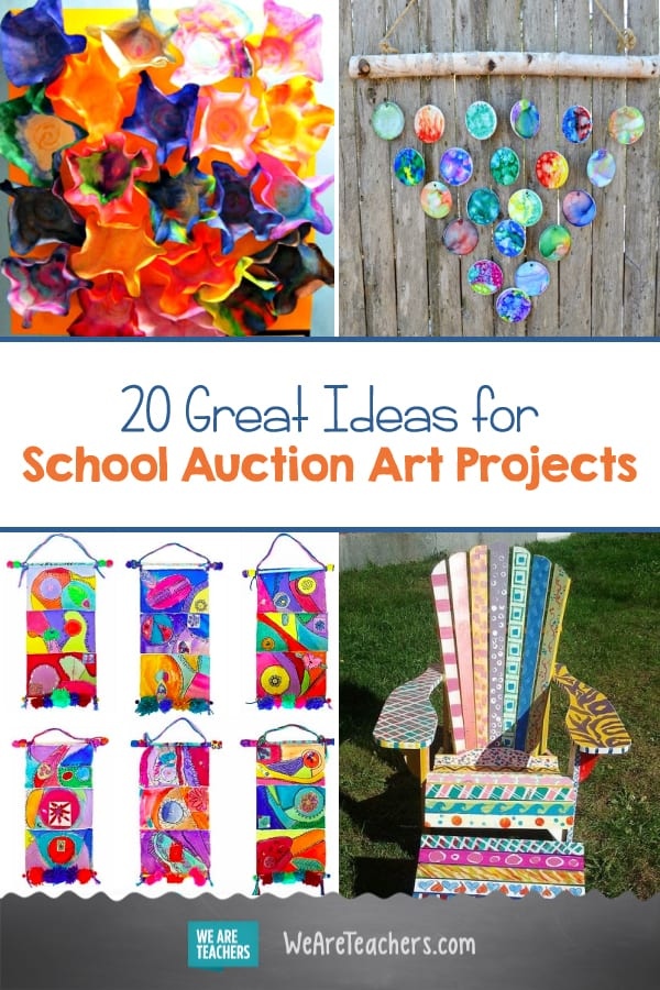 School Auction Art Projects 20 Great Ideas Weareteachers