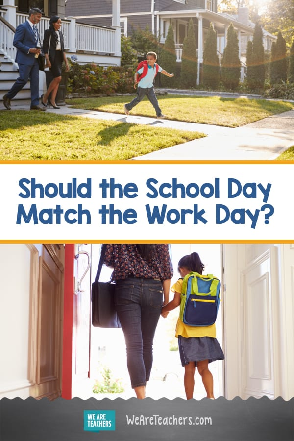 Should the School Day Match the Work Day? Teachers Weigh In