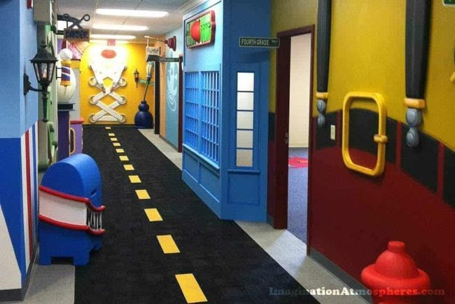 School Hallways Imagination Atmospheres