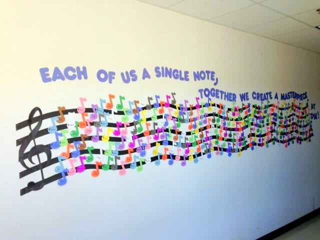 School Hallways Musical Musings