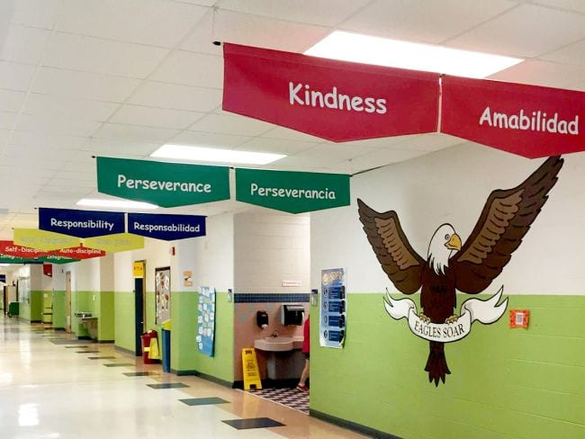 School Hallways Pro Sign Design