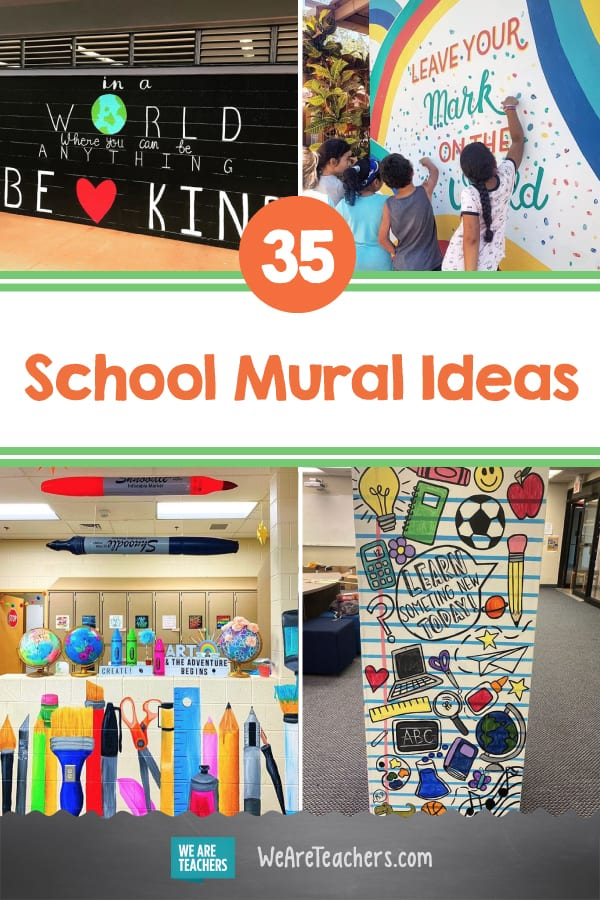 These 35 School Mural Ideas Will Make You Want to Grab a Paintbrush