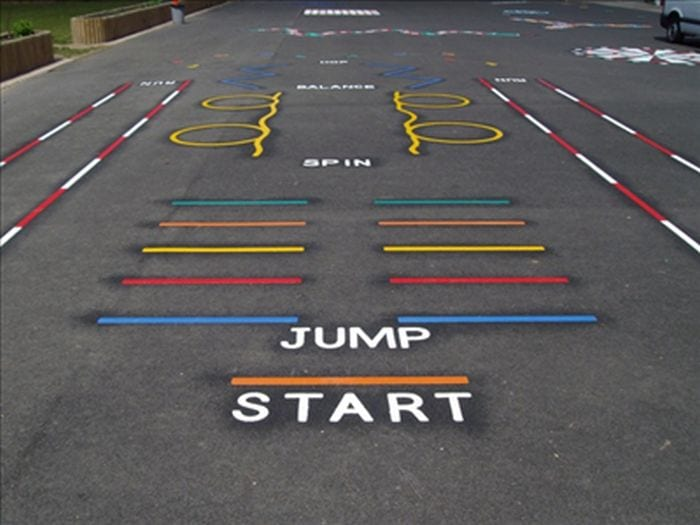 Parking for school playgrounds