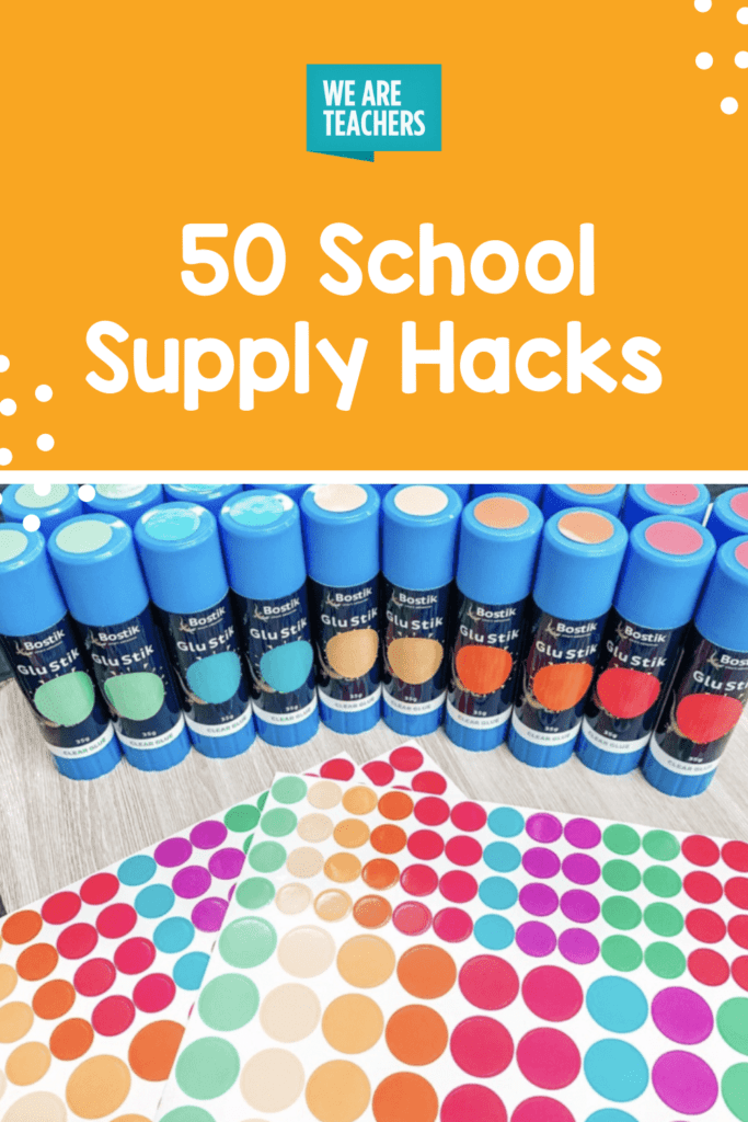Every Teacher Needs To Know These 50 School Supply Hacks