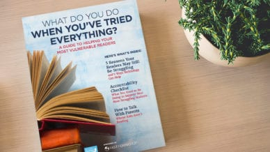 Free Guide: Helping Your Most Vulnerable Readers
