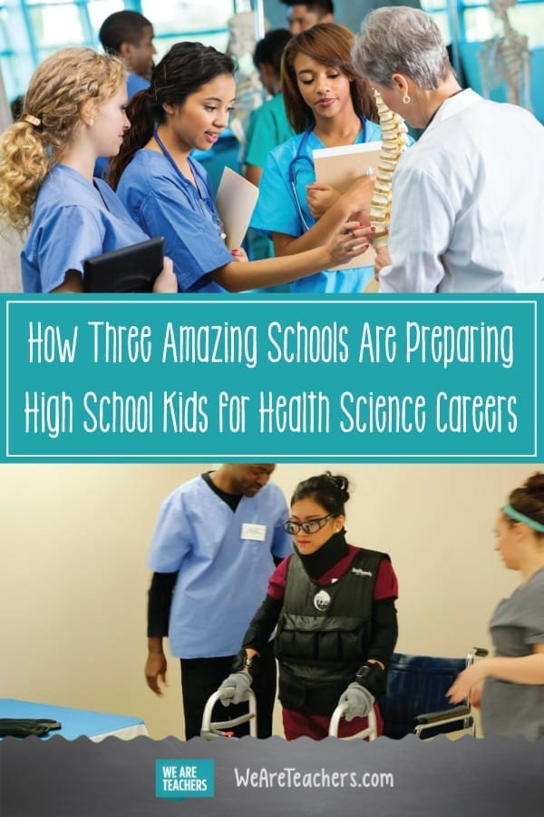 How Three Amazing Schools Are Preparing High School Kids for Health Science Careers